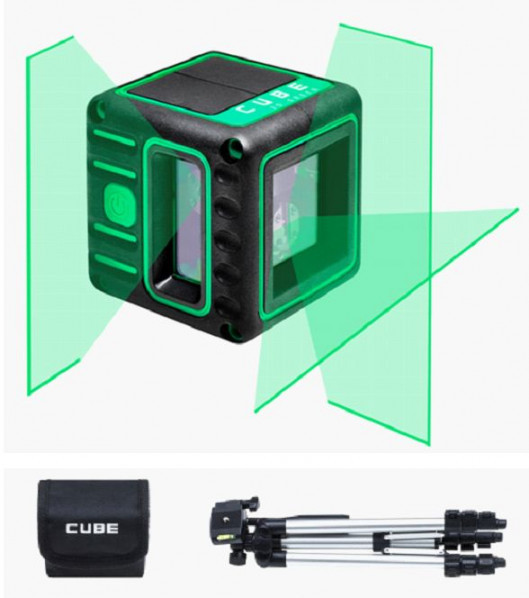 Ristlaser ADA CUBE 3D GREEN Professional Edition Kit. tk. 168.00 €